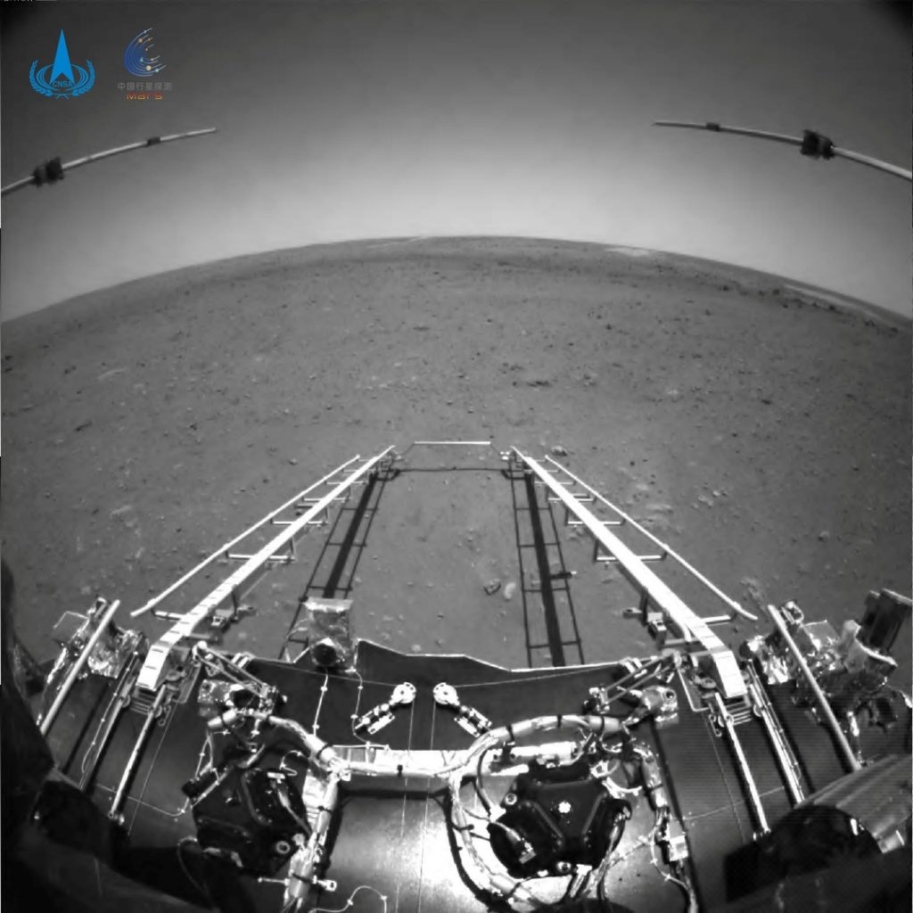 The truth about Chinese robots landing on Mars    World