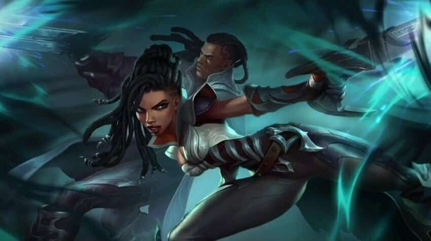 China and Lucien in lol