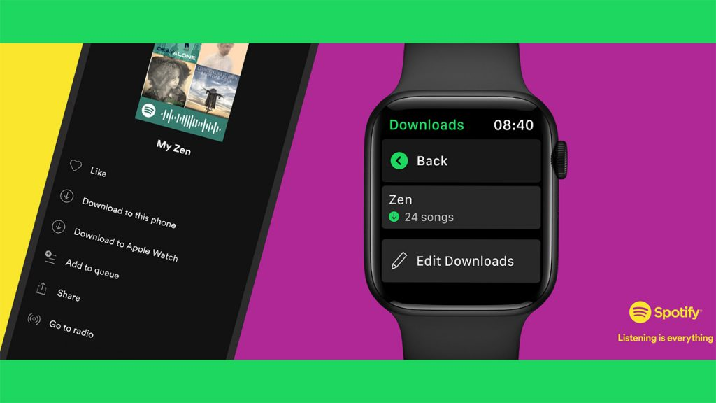 Apple Watch: You can now download Spotify playlists, albums, and podcasts to your watch.  Here's how to do it