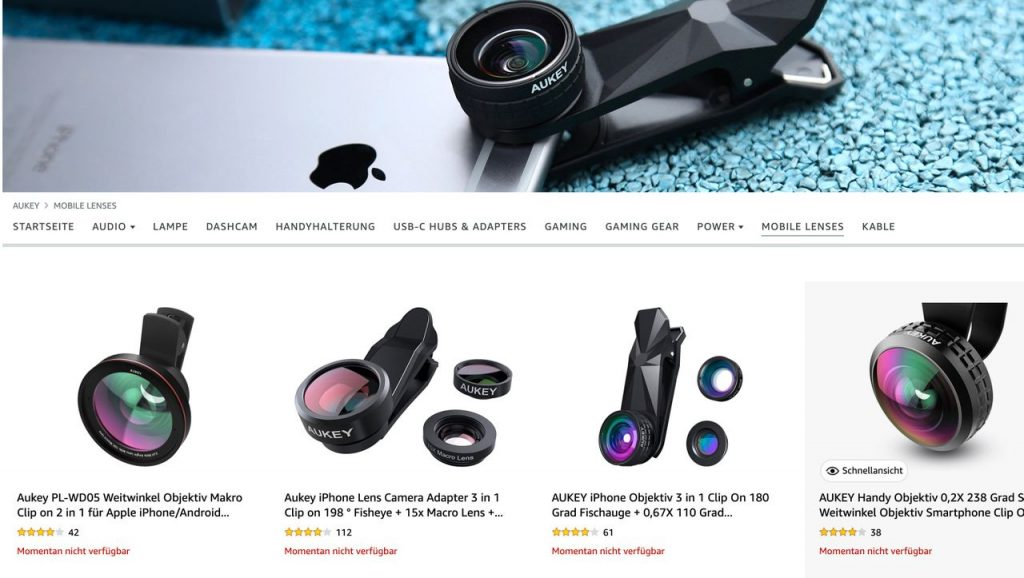 Aukey Affected: Amazon Apparently Dumps Several Well-Known Retailers