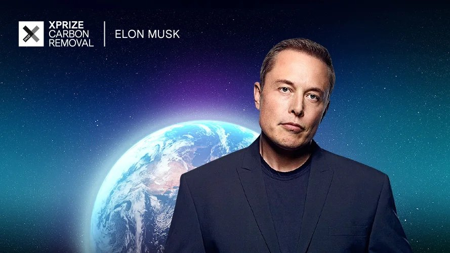 Eliminating CO2 emissions: Elon Musk launches a $ 100 million contest
