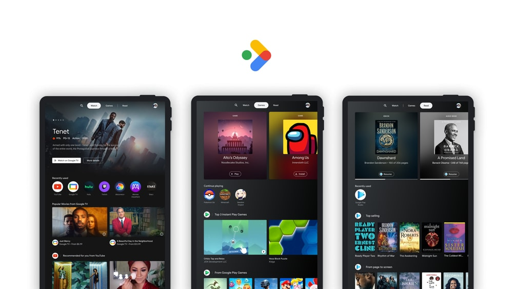 Entertainment Space: Google's solution for combining entertainment on Android tablets