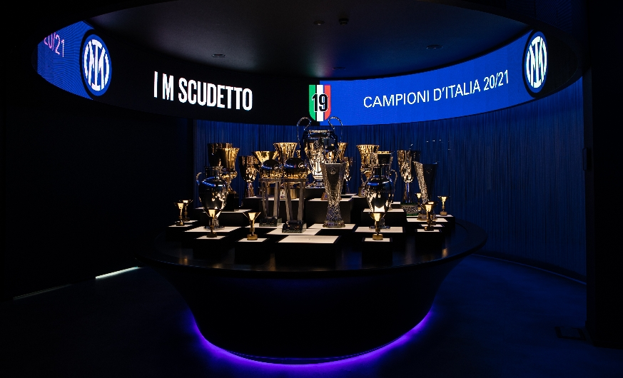 IM SCUDETTO |  Download your IM Scudetto ticket for Inter-Udinese and participate in the contest to visit the trophy room