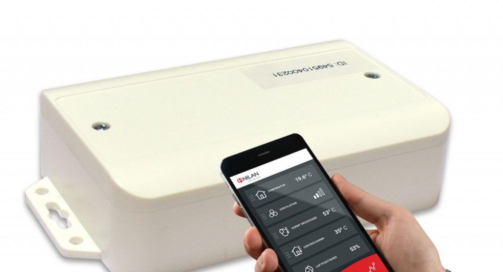 Control the ventilation system and heat pump from your mobile phone |  MODERN BUILDING |  Files