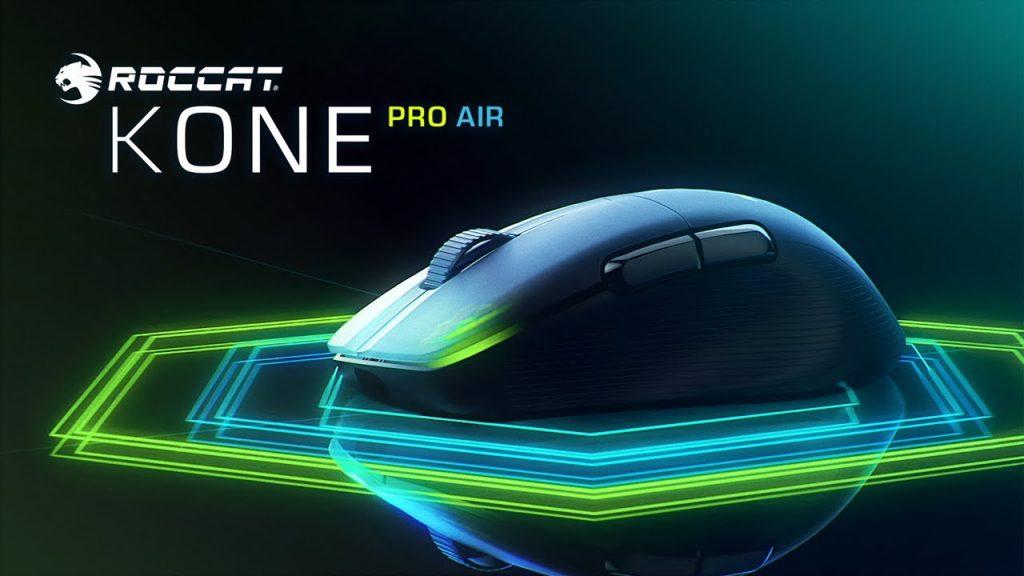 ROCCAT Kone Pro Air - Proven Design Now Wireless