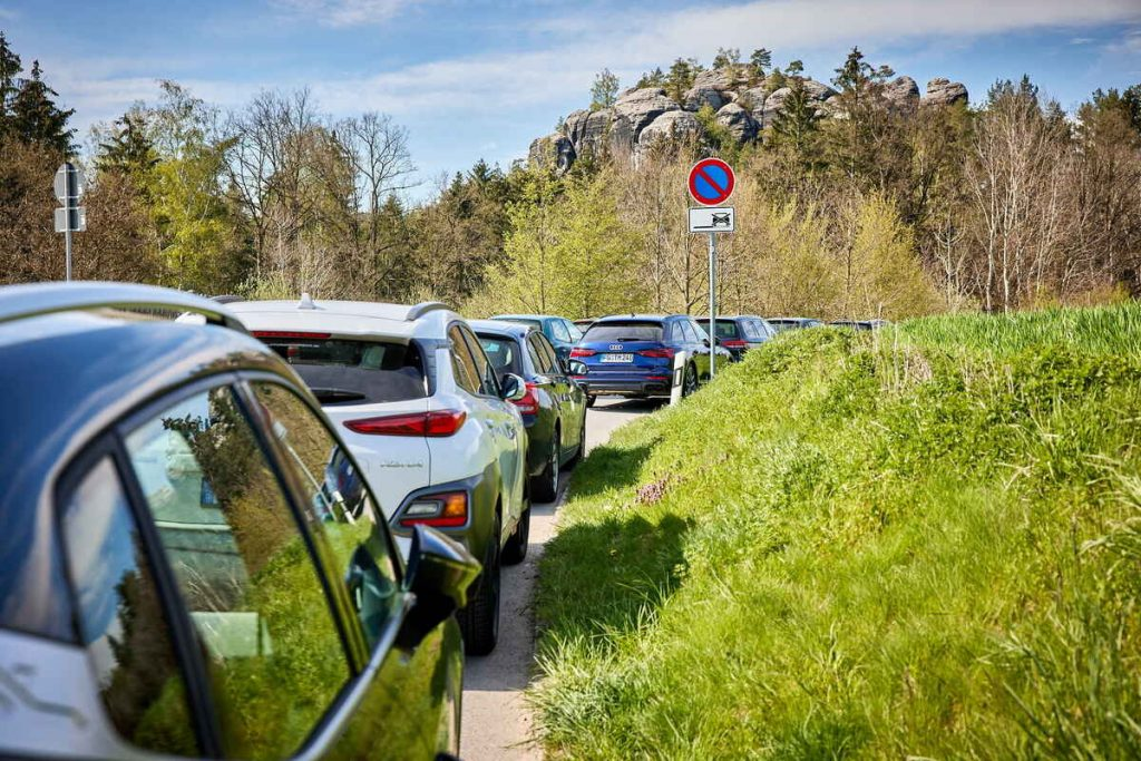 Saxon Switzerland: simplifying your search for a parking space |  Sächsische.de