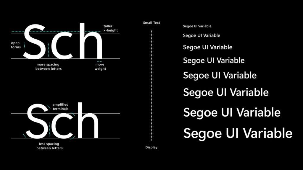 Segoe UI Variable: Microsoft testet eine neue Schriftart für Windows 10