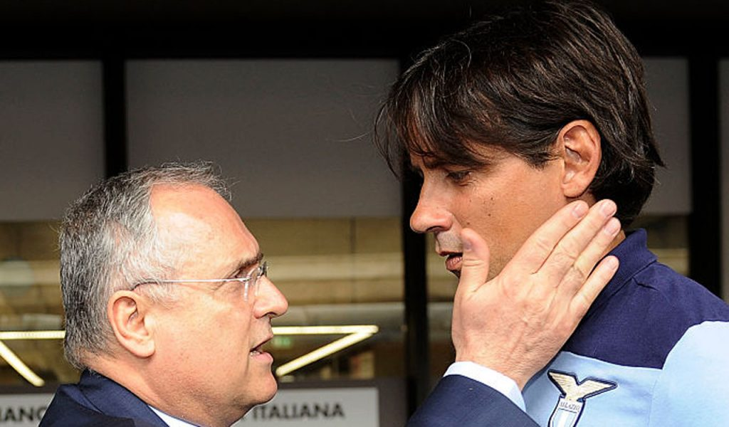 Simone Inzaghi says goodbye to Lazio and signs for Inter: agreement made, Lotito mocked