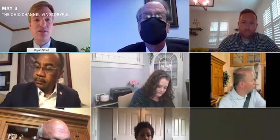 Un sénateur américain pris en flagrant délit de conduite lors... d'une réunion Zoom (VIDEO)
