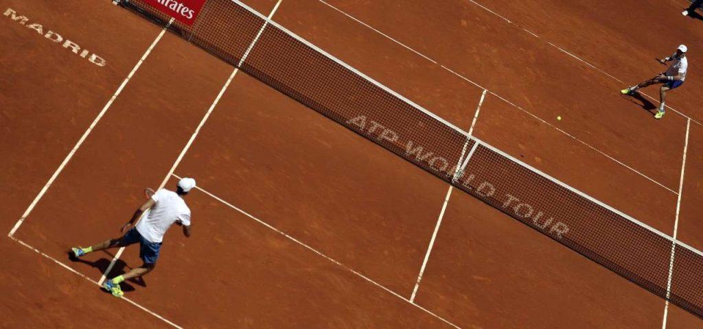 the men's tournament also begins (tennis)