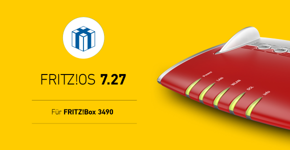 AVM launches FRITZ!  OS 7.27 for FRITZ!  Box 3490