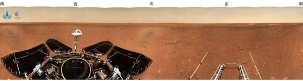 panorama mars china