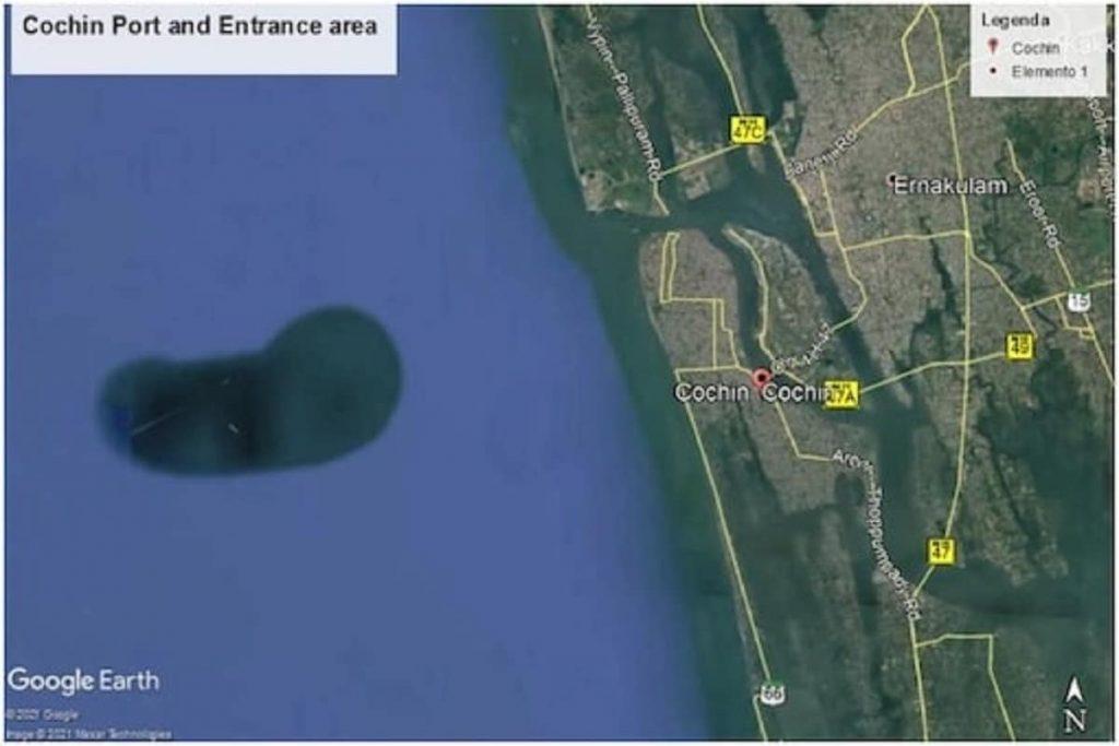 Google Mapsने केरळच्या समुद्रात टिपलं एक बेट; पण असं बेटच नाही? जाणून घ्या काय आहे गौडबंगाल