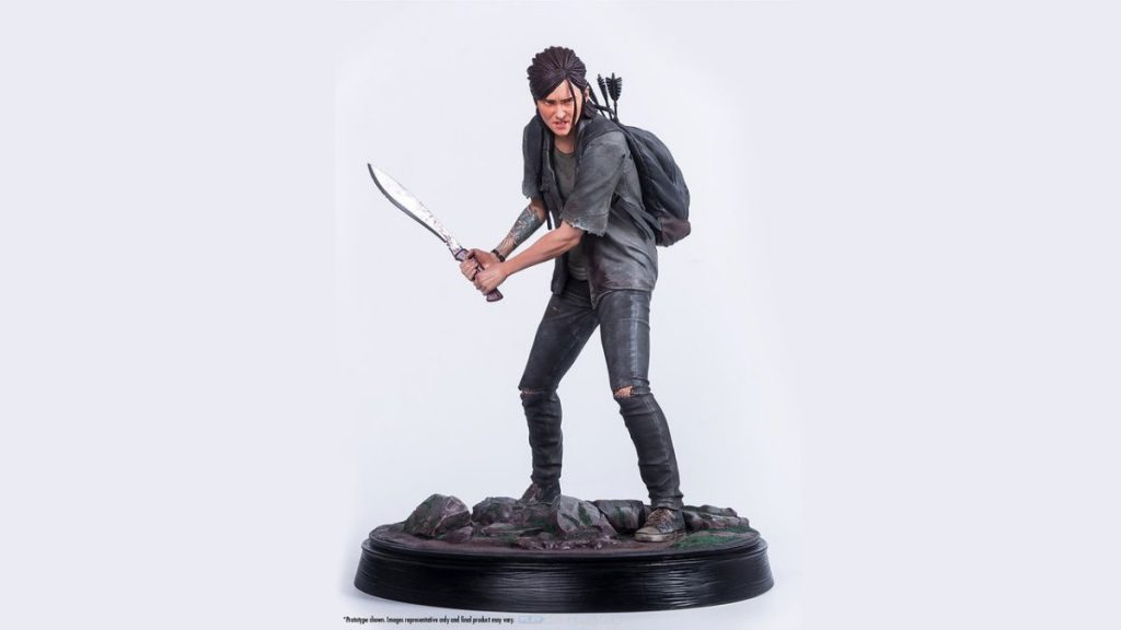 "Sony bringt beeindruckende ""Gaming Heads"" -Ellie-Statue / Play Experience"