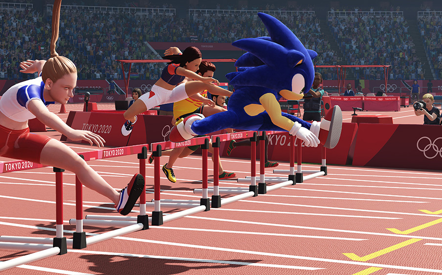 """The Official Video Game of the Tokyo 2020 Olympic Games Launched Also Can Be Transformed into a """"Sonic"""" Competition 