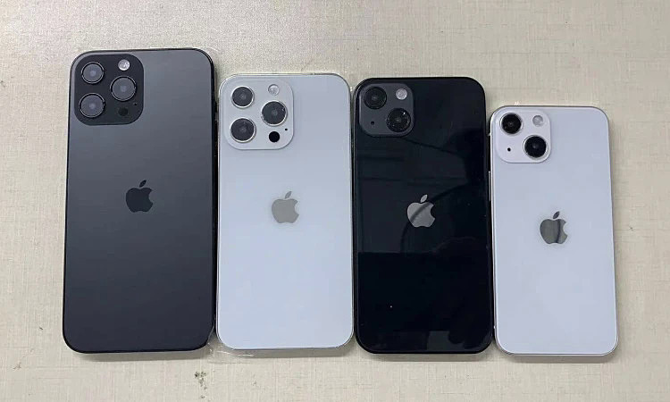 The iPhone 13 series revealed the model.
