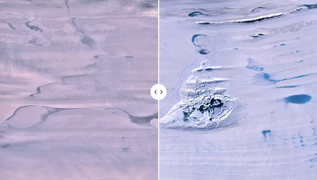 Un enorme lago antartico è scomparso misteriosamente