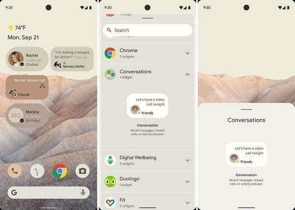"""Android 12. Leaks for the new operating system expected from """"The Google"""""""