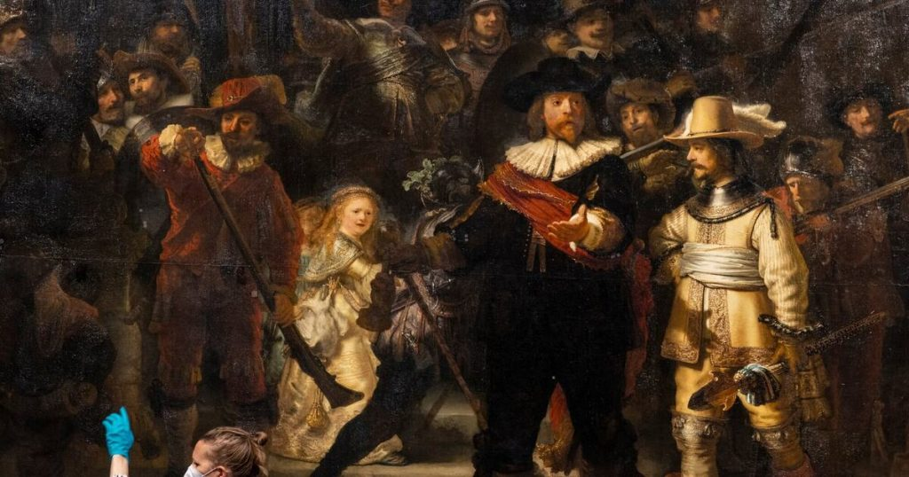 Artificial Intelligence Recreates Lost Fragments of Rembrandt's Night Watch |  The science