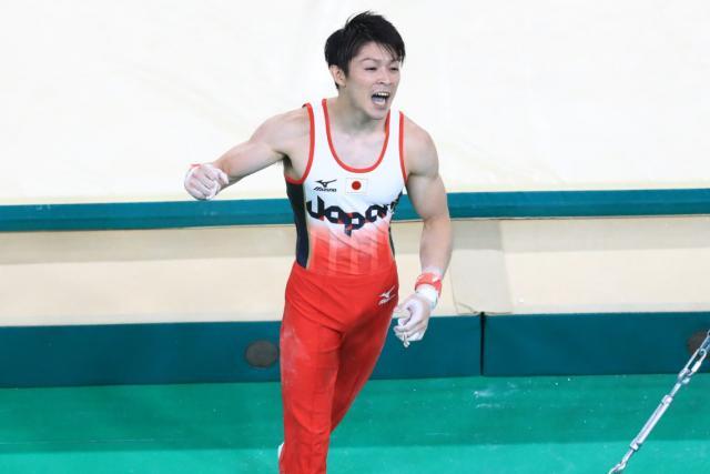 Kohei Uchimura qualifies for his fourth Olympics