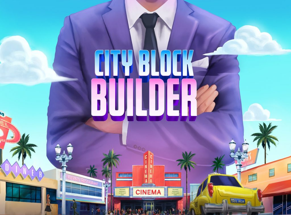 """Los Angeles' 50s Tycoon Management Game """"City Block Builder"""" Glance & Free Demo"""