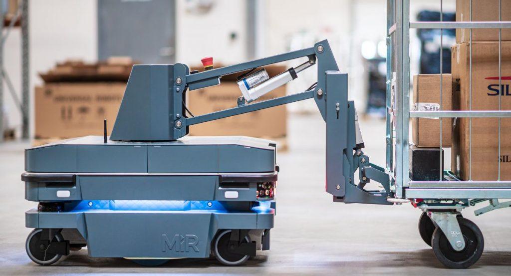 MiR launches the MiR250 hook |  Intralogistics |  Industrial sectors
