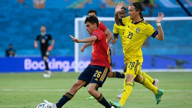 Lots of passes, but no goals: co-favorite Spain can't beat Sweden 0-0 - sport