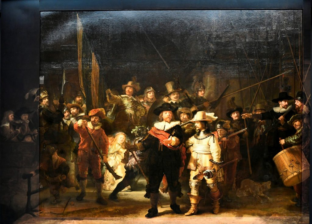 """Reconstruction of Rembrandt's """"Night Watch"""" with the help of artificial intelligence"""