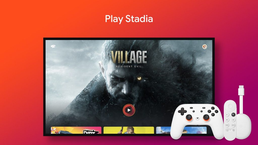 Stadia lent its Android TV operating system, Chromecast with Google TV and NVIDIA Shield