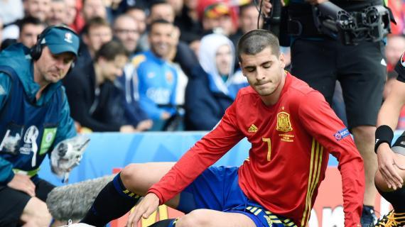 """Il pubblico spagnolo """"scarica"""" Morata: l"""