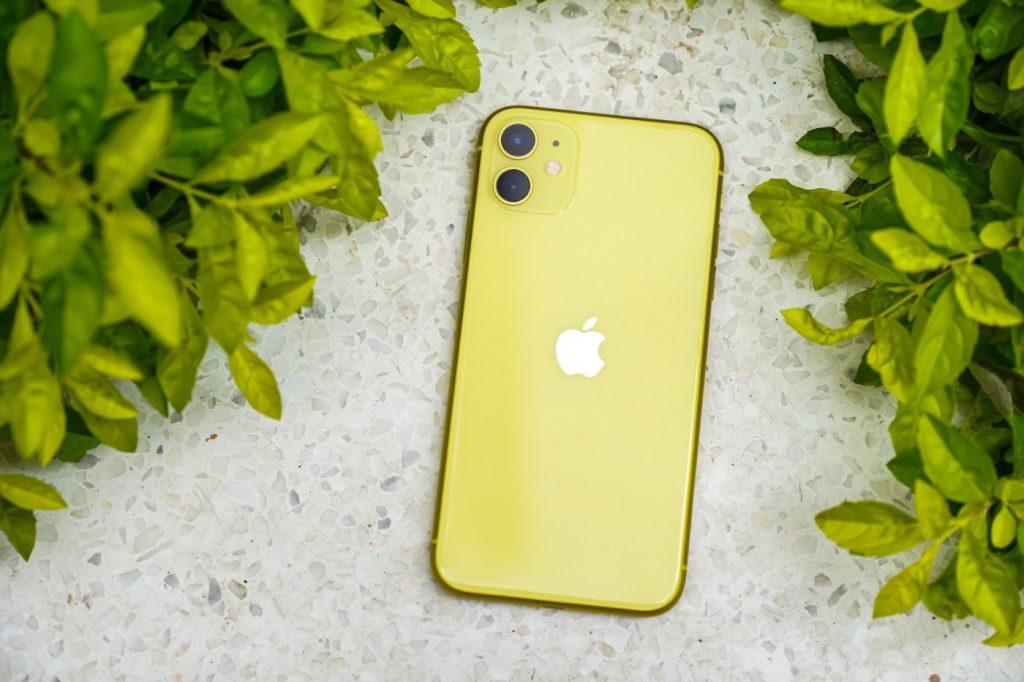 iPhone jaune