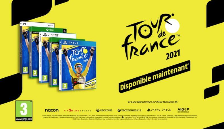 Tour de France - Le jeu Tour de France 2021 et son inédit mode MyTour