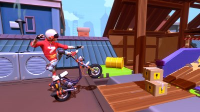 Urban Trial Tricky announced for PC, PS4 and Xbox One in a Deluxe Edition