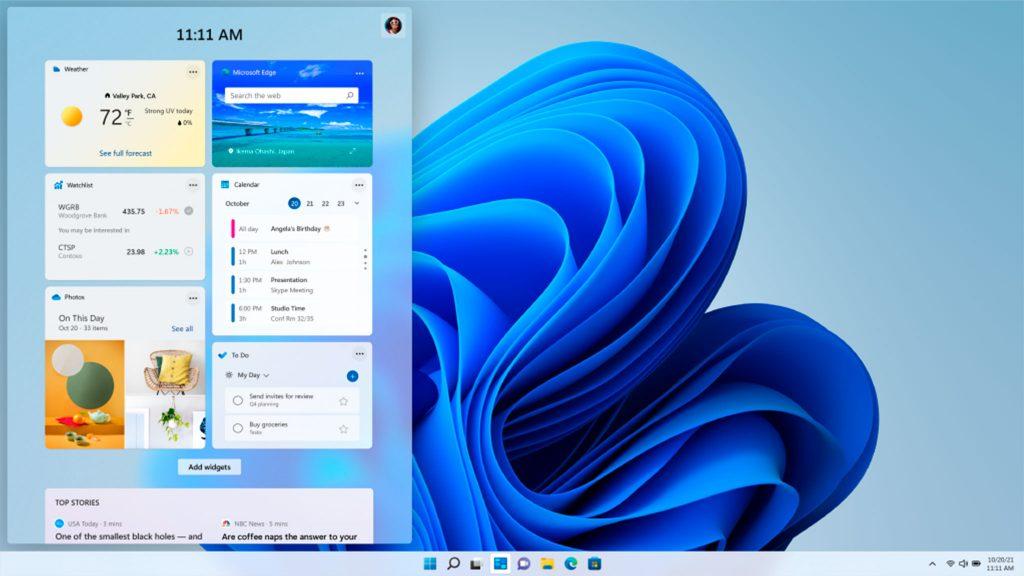 Screenshot aus Windows 11