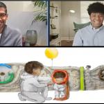 google ceo sundar pichai surprised google doodle winner milo golding |  When Google CEO himself gives a beautiful pichai surprise!