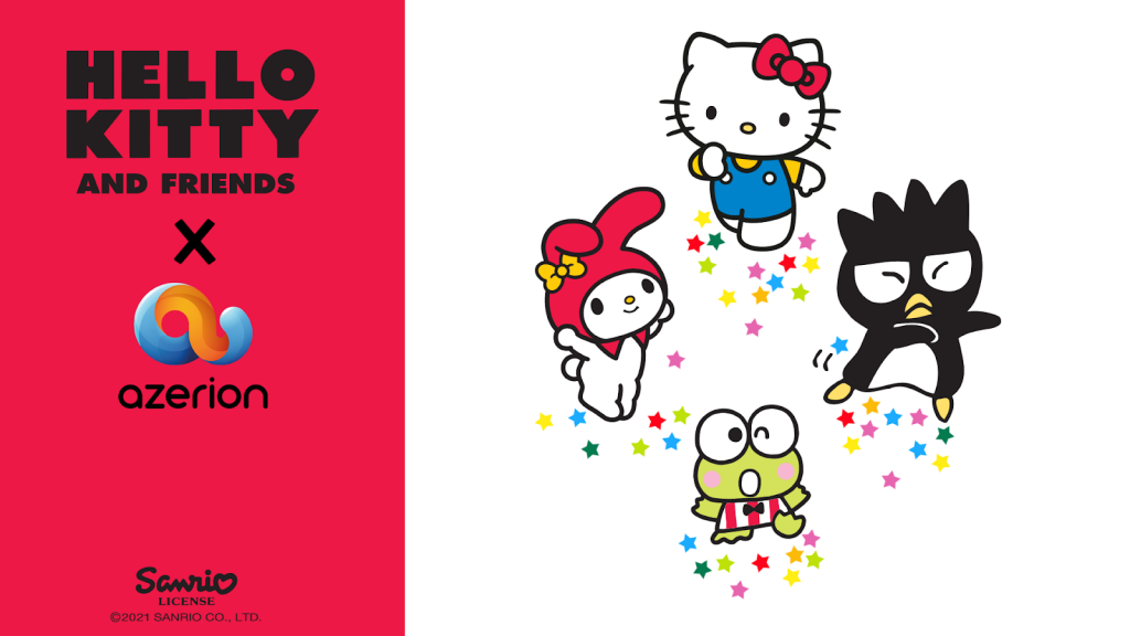 Azerion with Sanrio to create a worldwide Hello Kitty and Friends multimedia entertainment experience