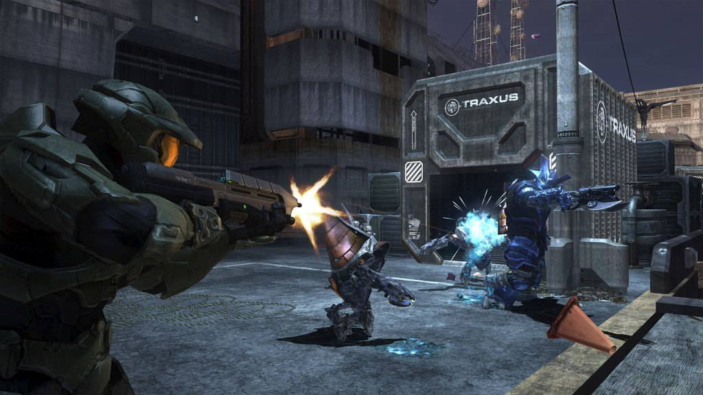 Halo 3 campaign gameplay