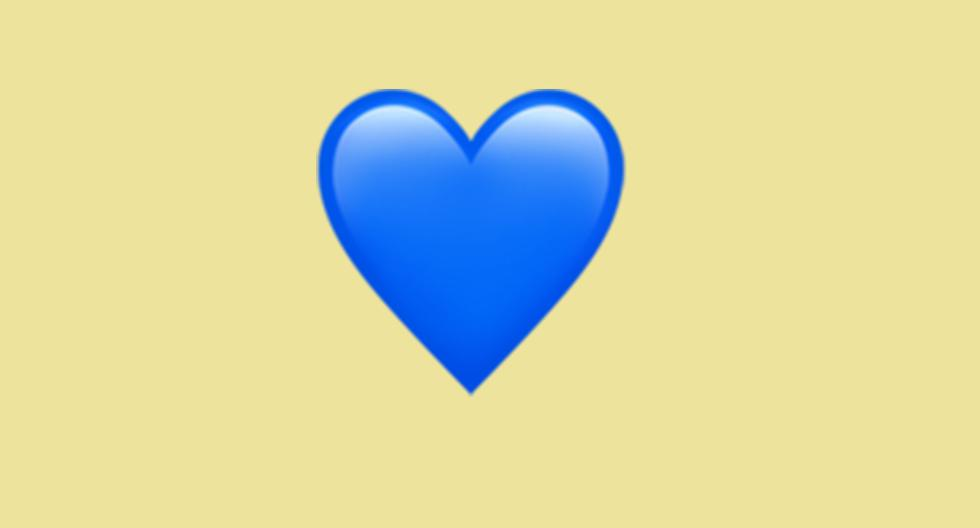 WhatsApp |  Does the blue heart emoji mean |  Blue heart |  Meaning |  Applications |  Apps |  Emoticons |  Smartphone |  Cell phones |  Trick |  Tutorial |  United States |  Spain |  Mexico |  NNDA |  NNNI |  SPORTS-PLAY