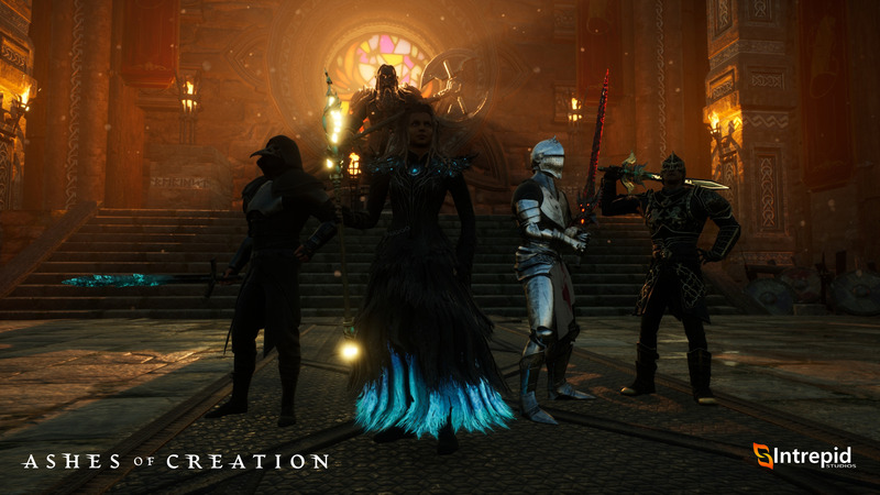 Ashes of Creation - Ashes of Creation launches its Alpha One and specifies its content