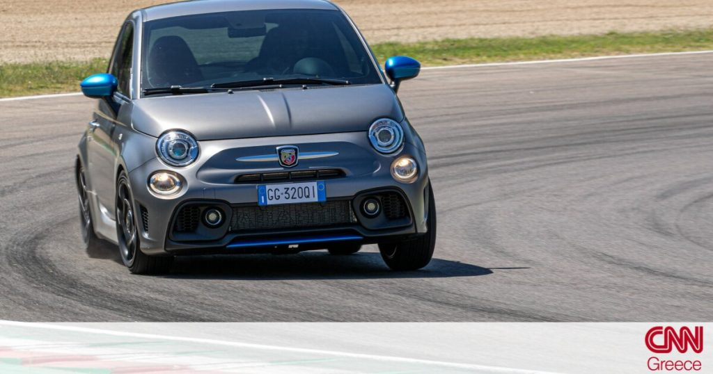 The Abarth F595 has 165 hp and Formula 4 technology