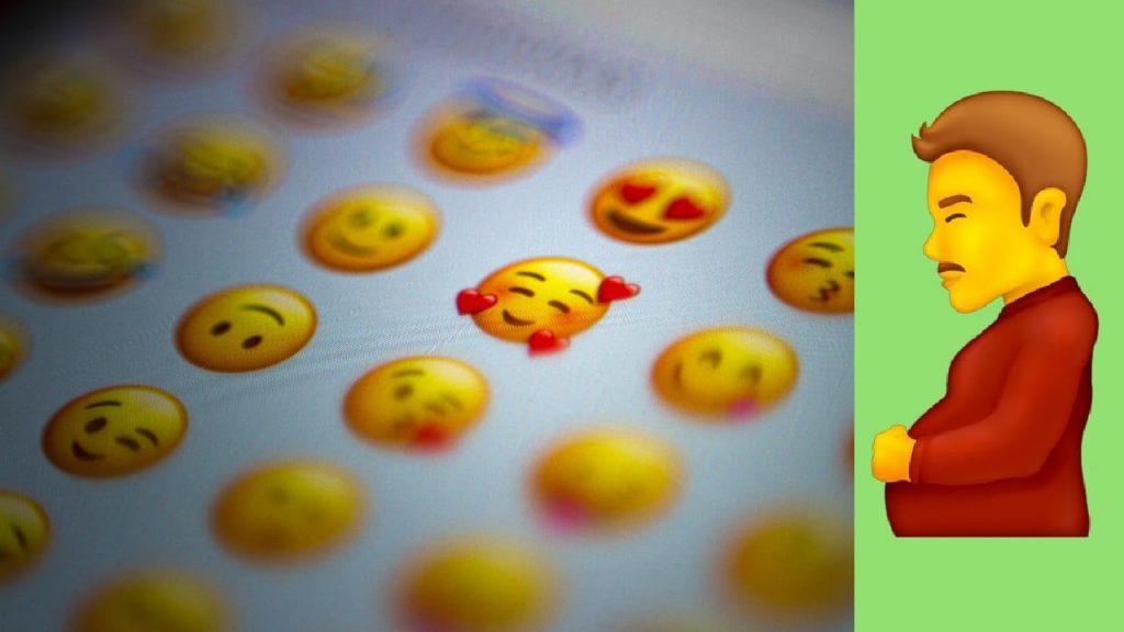 Llegan los nuevos emojis inclusivos: Incluyen un hombre embarazado
