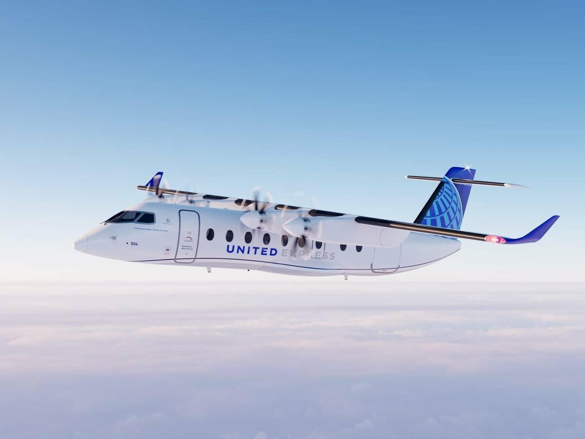Photo: Render of the ES-19 in flight (Heart Aerospace)