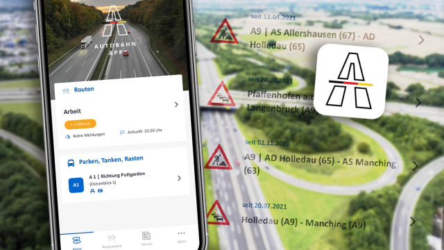 Drivers should be familiar with this app - this is what makes the official Autobahn app different from Google Maps