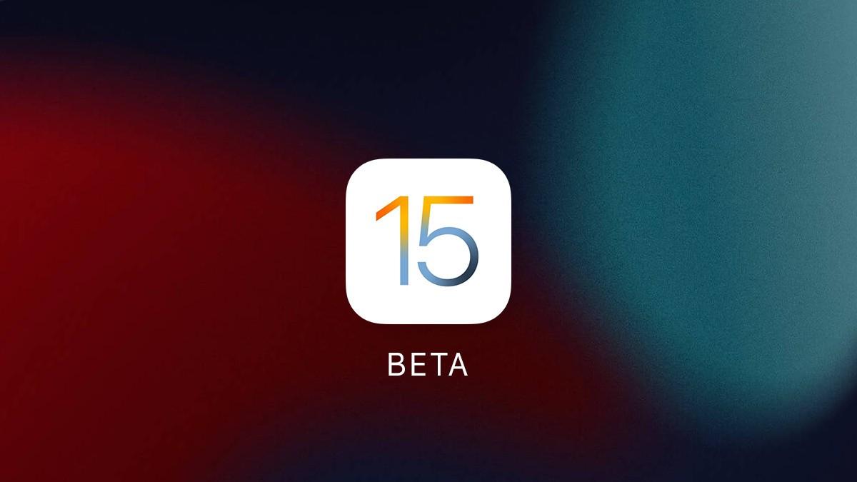 header ios 15 beta