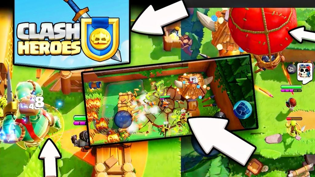 Do you have an iOS system?  Here's how to try CLASH HEROES in Preview!