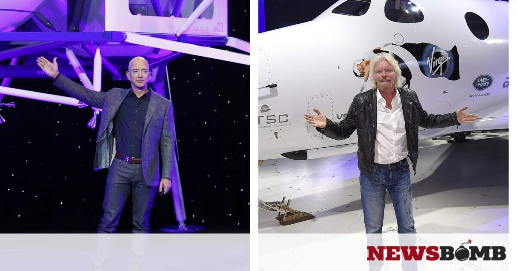 """Not considered astronauts: how America """"cuts the wings"""" of Bezos and Branson - Newsbomb - News"""