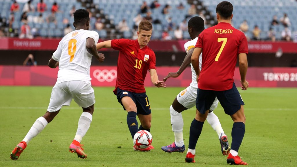 Olympic Games - Soccer: Spain - Ivory Coast LIVE