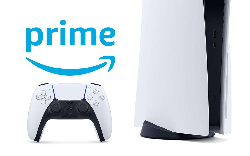 PS5, exclusive for Amazon Prime subscribers