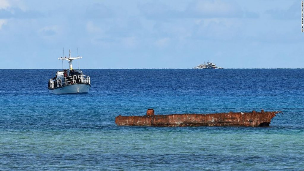 Philippines investigates China's report dumping sewage into the sea
