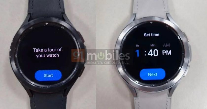 """Samsung Galaxy Watch 4 Classic Smartwatch with Wear OS Shown in """"Live"""" Photos"""